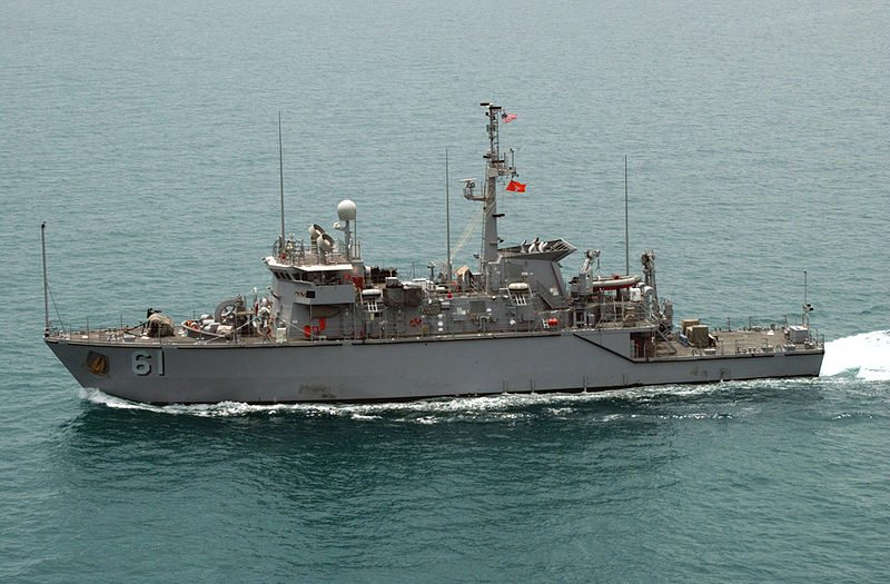 Taiwan navy to get two US-built minehu...
