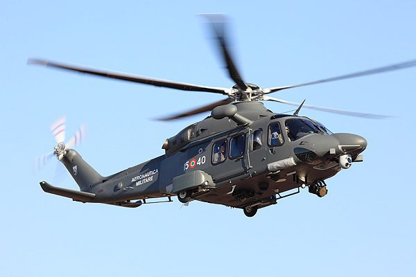 Italian Air Force's HH-139A Enters Ope...