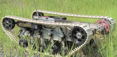 DARPA Tests New Robotic Suspension Sys...