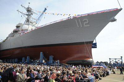 Future USS Michael Murphy Completes 'S...