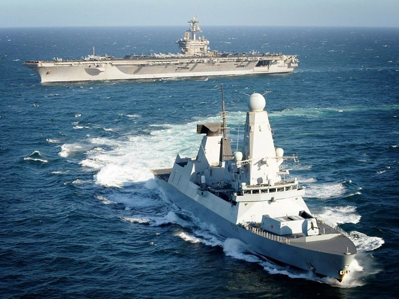 UK Deploys Type 45 Destroyer to Gulf