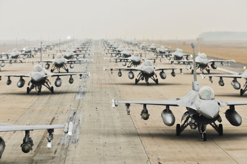US/ROK forces show off air power