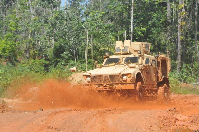 US Army Tropic Regions Test Center puts MRAP through its paces