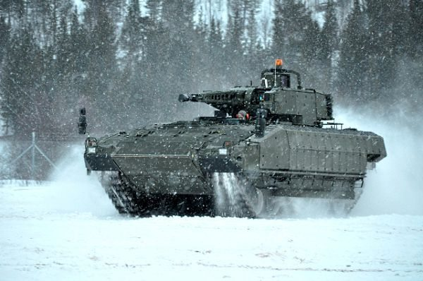 Arctic Test of the PUMA Armored Infant...