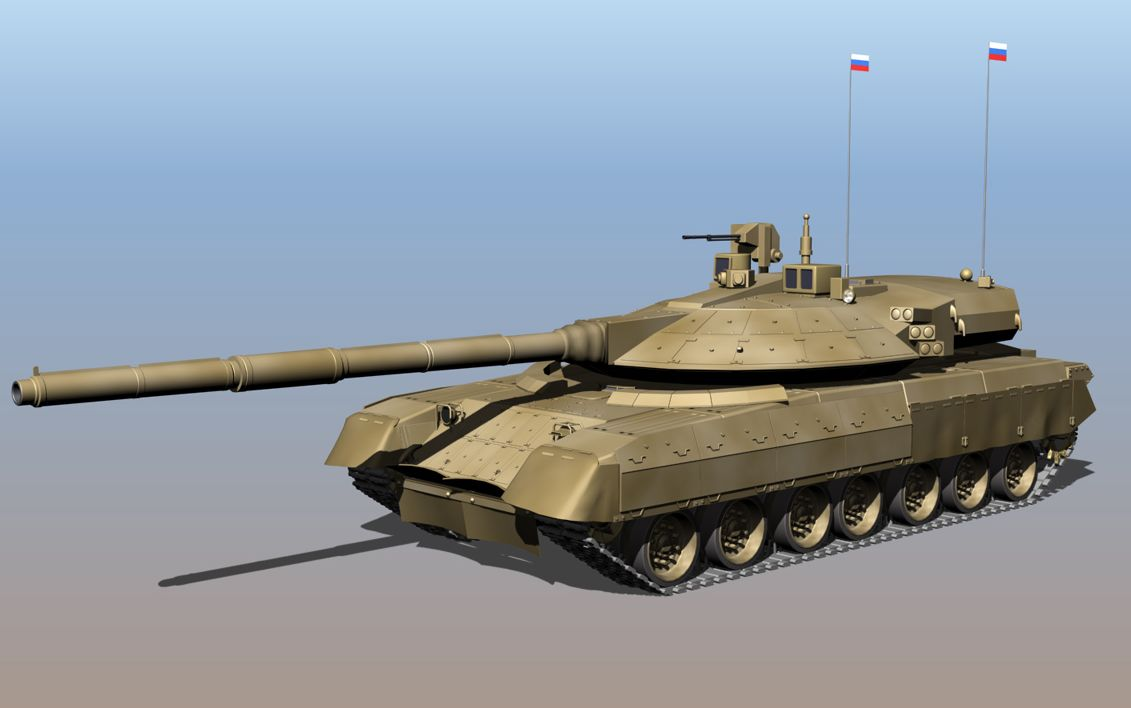 New Russian Tank to Have Remotely Cont...