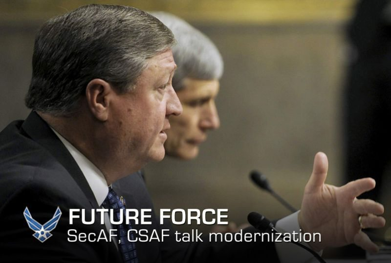 Air Force leaders discuss modernizatio...