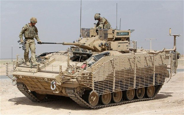 Warrior Armoured Vehicle Safety Concer...
