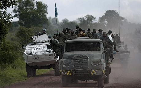Residents flee as DR Congo army, rebel...
