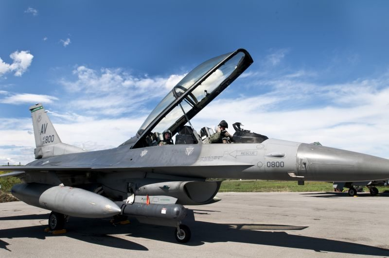 F-16 crashes at Utah Test and Training...