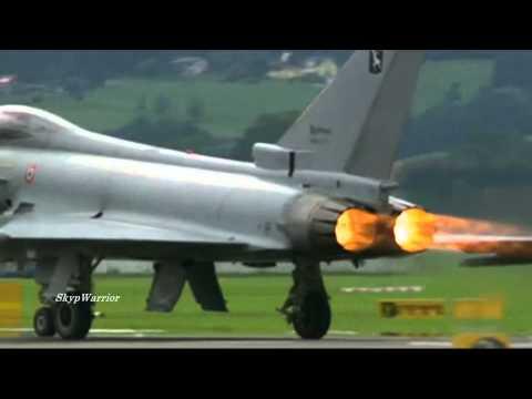 F-22 Raptor vs Eurofighter Typhoon.