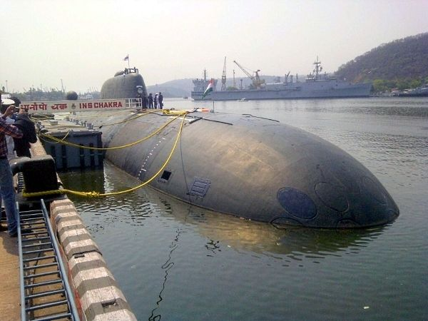 Nuclear Submarine INS Chakra Inducted ...