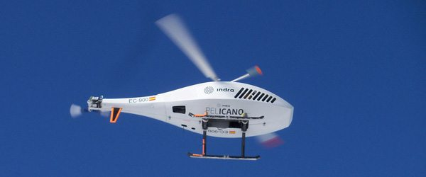 Indra Flies Its Unmanned 'Pelicano' He...