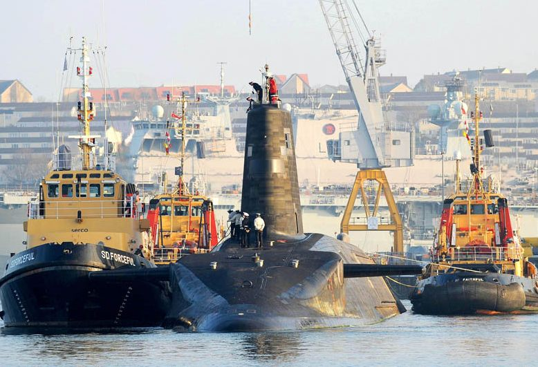 Royal Navy SSBN Back at Sea After Refu...