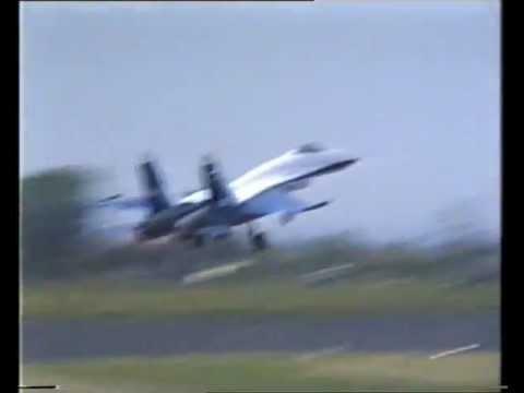 Russian Test Pilots Su27 Flanker – Biggin Hill Air Fair – 21 June 1992