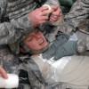 Air Defense Artillery Soldiers conduct medical training in Kuwait