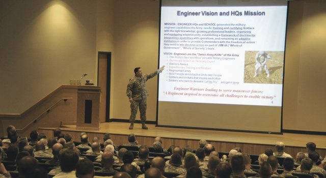 Army Engineer School launches ENFORCE ...