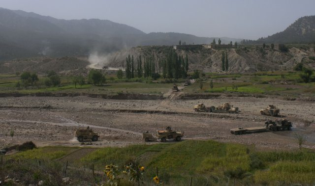 Pakistan route critical to reset, retr...