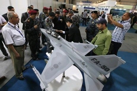 Iraq hosts arms expo 9 years after fal...