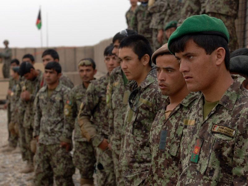 UK Advisors Support Afghan Army Operat...