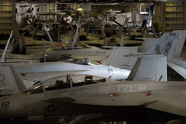 US Navy Carrier Air Wing 14 Deactivati...