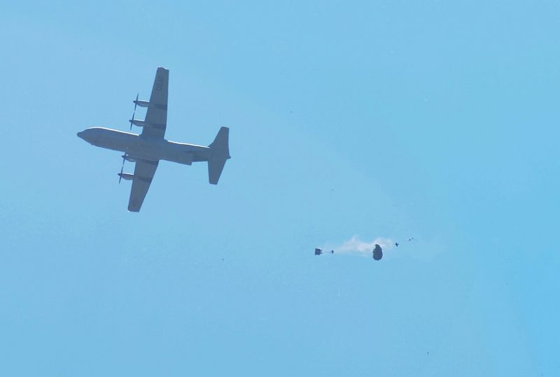 Air Force Delivers Precision Resupply ...