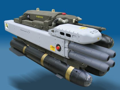 Lockheed Demos DAGR Missile Ground Veh...