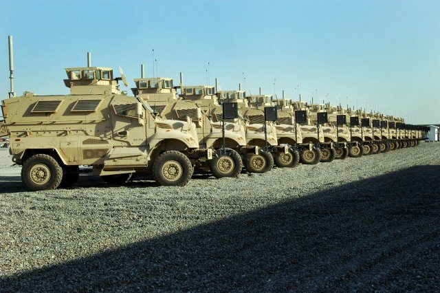 Army refining long-term MRAP plan