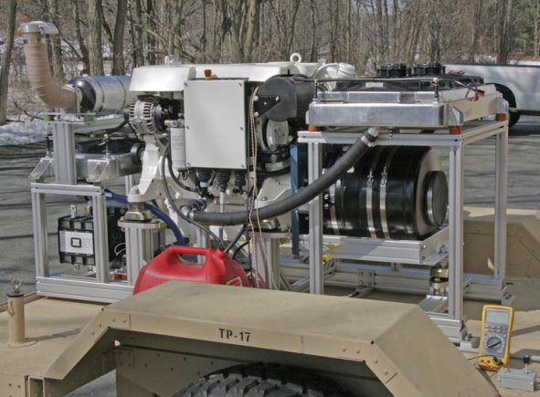 Army develops generator 1.5 tons light...