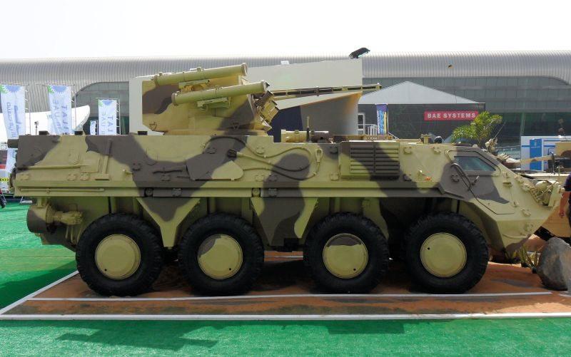 Ukraine, Kazakhstan Sign Armored Vehic...