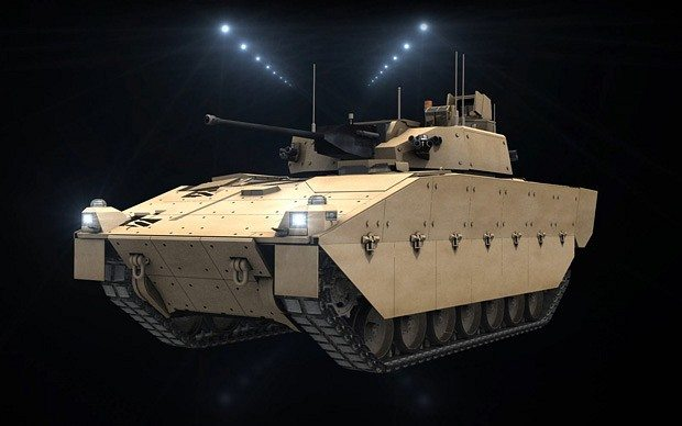 UK MoD Still Committed to SV Armoured ...