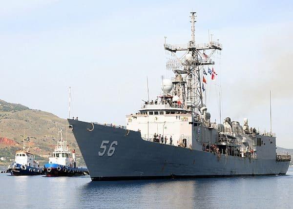 US warship arrives in Georgia amid Ukraine crisis
