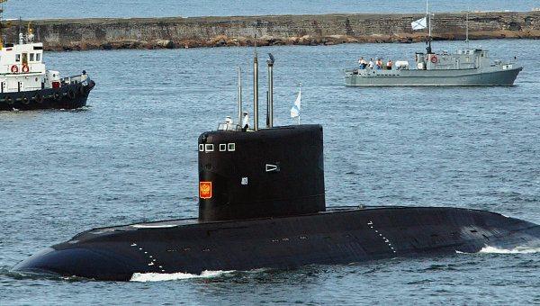 Iran Overhauls Russian-Built Submarine