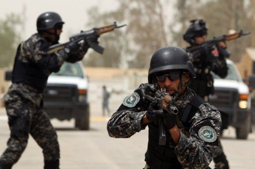 US insists Iraq police training not be...