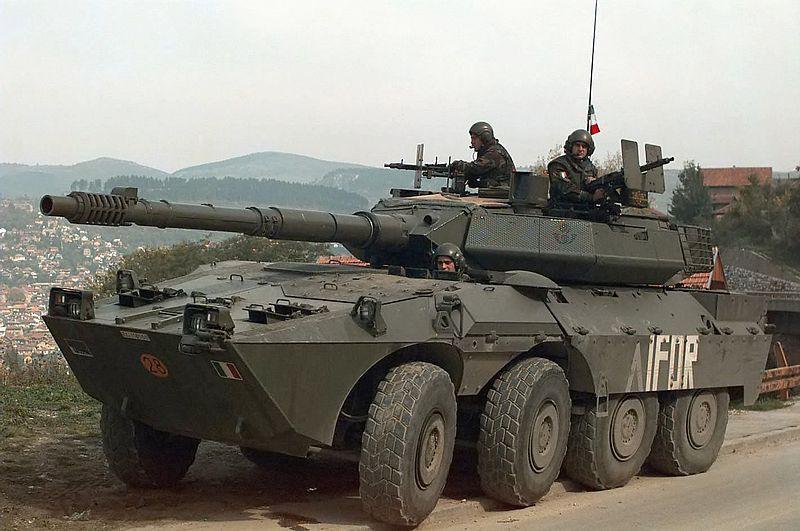 Russia Testing Italian Tank