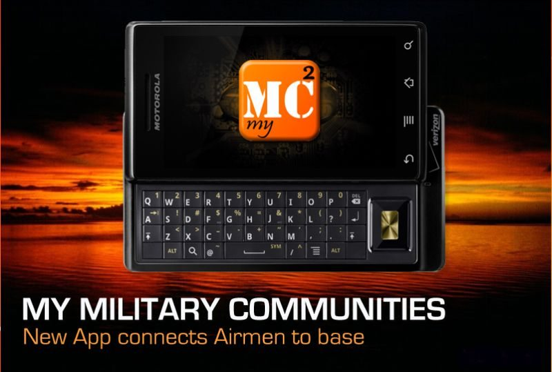 Mobile app connects Airmen to their base