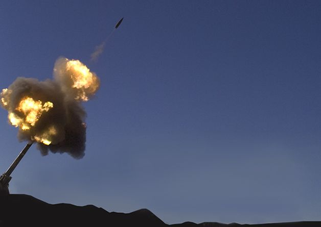 Raytheon fires Excalibur from G6 self-...