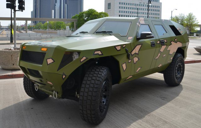 US Army Concept Vehicle Rolls Out to M...
