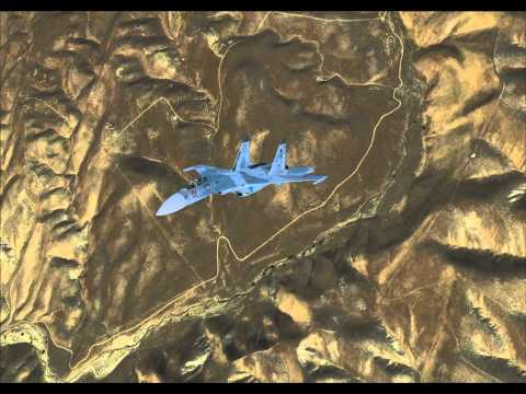 ALS-SIM Su-27 Flanker visual model fix test
