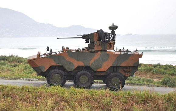 Iveco Delivers First Guarani AFV to Br...