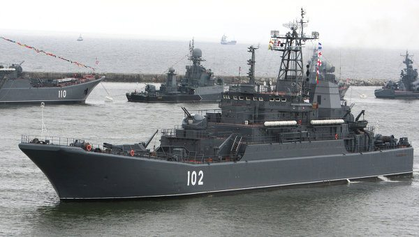 Moscow Denies Sending Warship to Syria