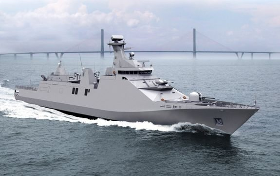 Moroccan Navy Commissions 3rd Sigma Fr...