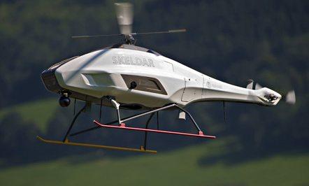 Saab Demos Skeldar UAV in Battlefield ...