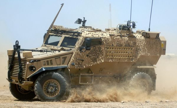 More UK Foxhound Vehicles Arrives In A...