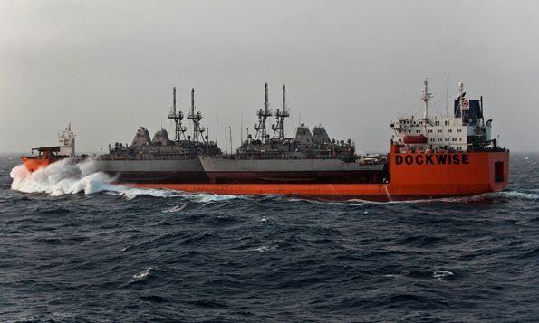 Mine Countermeasures Ships Arrive In U...
