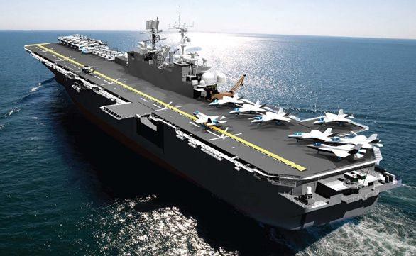 Navy Awards LHA 7 Construction Contrac...