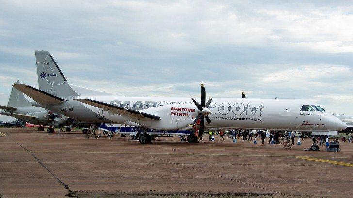 Saab Unveils New Surveillance Aircraft