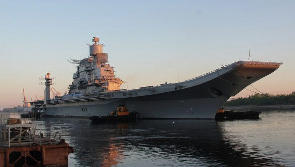 Indian Carrier Sails from Russia for Final Sea Trials