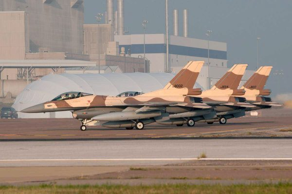 Lockheed Delivers Final Three F-16s to...