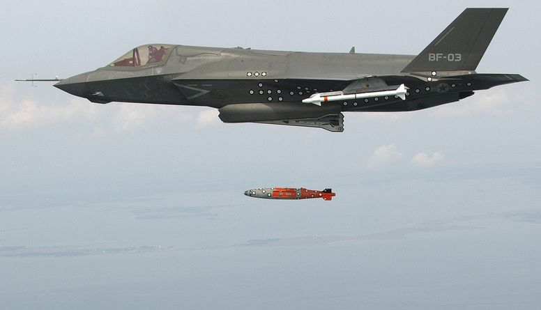 F-35 Completes First Airborne Weapons ...