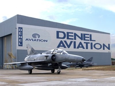 Denel Test Pilots Spreading Their Wing...